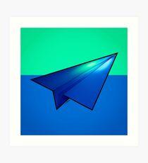 Paper Airplane 32 Art Print