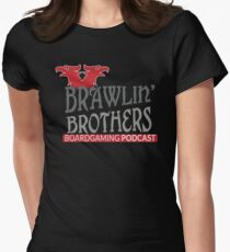 Brawling Brothers Design 3 Women's Fitted T-Shirt