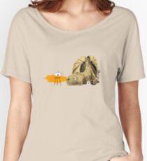 Dragon making tea Women's Relaxed Fit T-Shirt