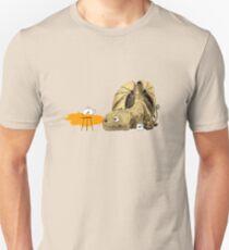 Dragon making tea Unisex T-Shirt