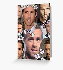 Ryan Reynolds  Greeting Card
