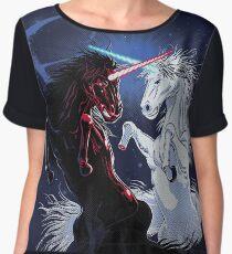 Unicorn Wars Women's Chiffon Top
