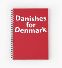 Danishes for Denmark  South Park Spiral Notebook