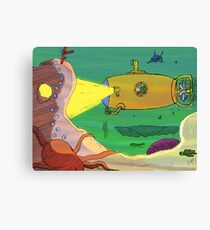 Yellow Submarine unda da sea! Canvas Print