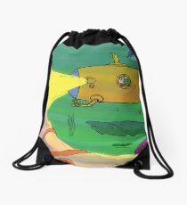 Yellow Submarine unda da sea! Drawstring Bag