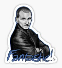 Ninth Doctor Who Christopher Eccleston Fantastic Sticker