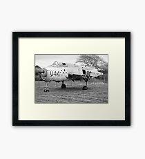 Fairey Gannet AEW3 derelict aircraft Framed Print