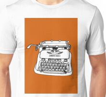 Hermes Typewriter Unisex T-Shirt