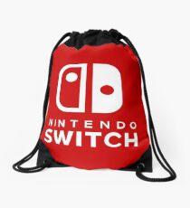 Nintendo Switch Hi-Res Logo Drawstring Bag