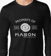 Timeless - Property Of Mason Industries Long Sleeve T-Shirt