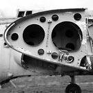 Fairey Gannet AEW3 old derelict aircraft by RedSteve