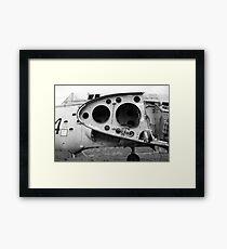 Fairey Gannet AEW3 old derelict aircraft Framed Print