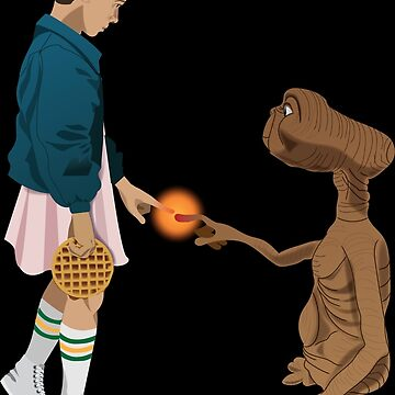 Eleven and ET  by andromacke