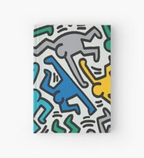 Haring Homage : Tropical Hardcover Journal