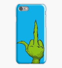 We Wish you NOT a Merry Christmas iPhone Case/Skin