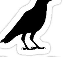 Edgar Allan Poe's quote  Sticker