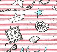 I love Sylt und das Meer Sticker