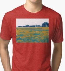 Seaview Kingsway in Turquoise Tri-blend T-Shirt