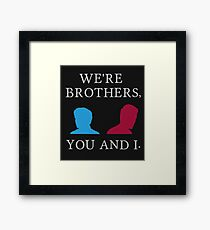 Mutant Brothers Framed Print