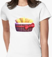 I Almost Died To Killer Animatronics, But The Gift Basket Was Worth It Womens Fitted T-Shirt