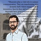 #SciComm100: David Evans by ScienceBorealis