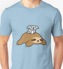Koala and Sloth Slim Fit T-Shirt