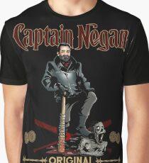 Negan Rum Grafik T-Shirt