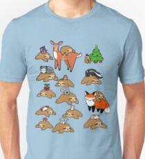 Sloths and Animals! T-Shirt