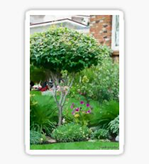 Topiary Tree Sticker