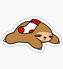 Sock Sloth Sticker