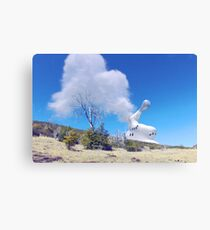 Reactor Venting on the Hillside Canvas Print