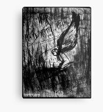 Silence Metal Print
