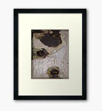 CRACKED (Damaged) Framed Print