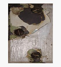 CRACKED (Damaged) Photographic Print