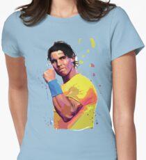 Rafa Nadal Tailliertes T-Shirt für Frauen