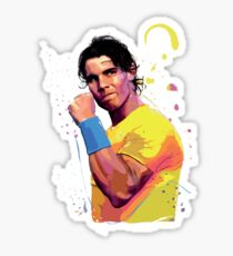 Rafa Nadal Sticker
