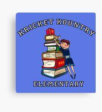 KRICKET KOUNTRY ELEMENTARY: Readers Rock the World! Canvas Print