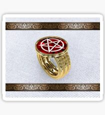Ring Of Lucifer Sticker
