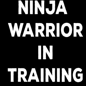 Ninja Warrior In Training by Tobytang2
