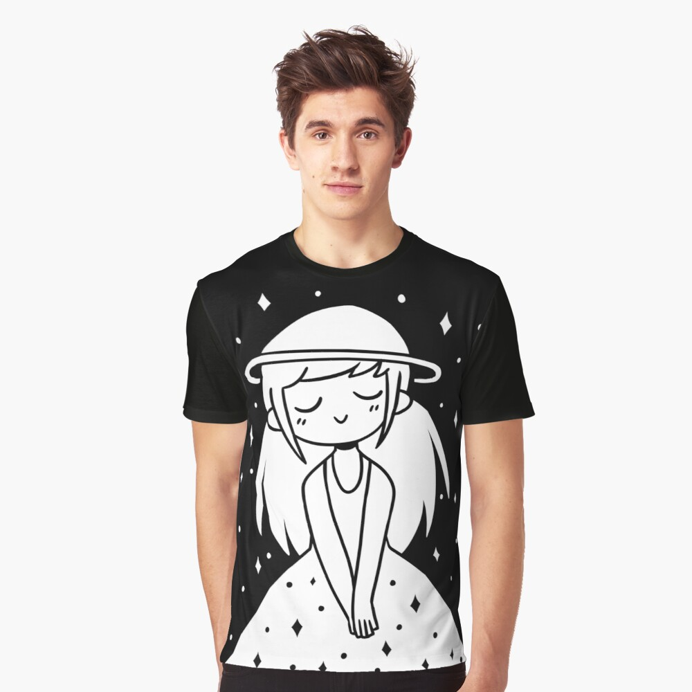 star girl Graphic T-Shirt Front