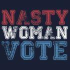 nasty woman vote by sirmom