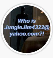 JungleJim4322@yahoo.com Sticker