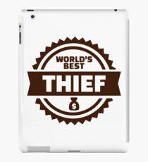 World's best thief iPad Case/Skin