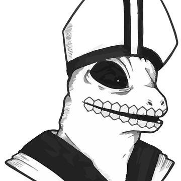 Lizard Pope by Eternaldrone
