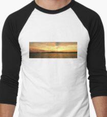 Golden Dusk Sea Sunset. T-Shirt
