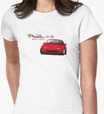 Mazda MX-5 Miata NA Women's Fitted T-Shirt
