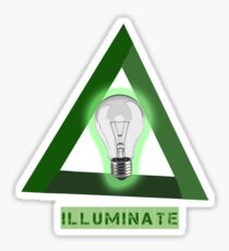 Illuminate/Illuminati Sticker