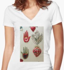 Don't Stop...In The Name Of Love Women's Fitted V-Neck T-Shirt