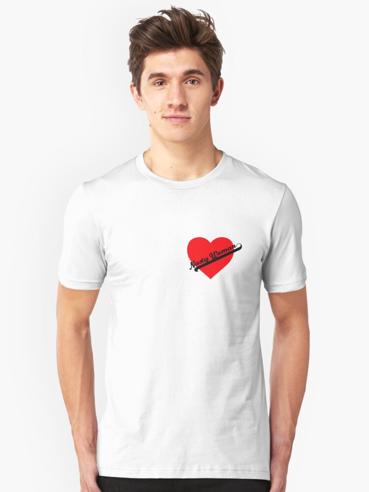 Nasty Woman Heart 2 by FrannyGlass