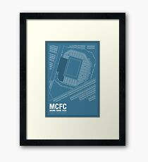 Maine Road - It's Where I Grew Up Framed Print